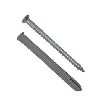 Fischer FUR 10x80 T deeldraad schroef met plug (4 stuks)