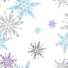 Papierbehang frozen sneeuwvlok (dessin 70-541)
