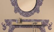 Kaptafel met spiegel maken
