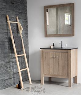 Handdoek ladder karwei - Decoratie douche badkamer ...