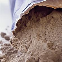 Cement, mortel & zand