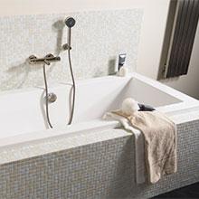 Karwei sanitair kopen - Mozaiek blauwe bad ...