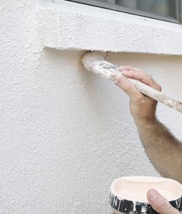 Buitenmuur schilderen bekijk het klusadvies karwei for Latex muurverf exterieur