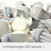 Lichtopbrengst LED-verlichting