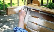 Vloer of meubels white washen