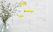 Creatief muuridee No.4: plakhout