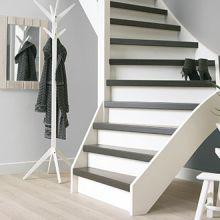 Karwei trappen traprenovatie kopen for Open trap bekleden met hout