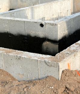 Fundering maken karwei for Huis waterdicht maken