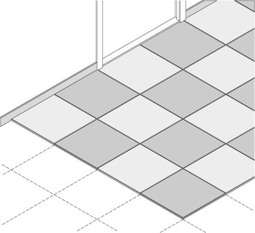 Vloer afwerken met MDF tegels   KARWEI