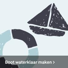 Boot waterklaar maken