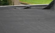 Rubber dakbedekking leggen