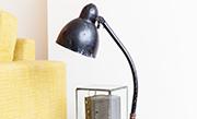 Knap je oude lamp op