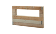 Hoofdbord van steigerhout
