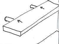 Zwevende planken boven het aanrecht maken bekijk het for Zwevende plank karwei