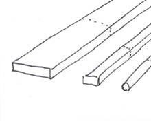 Entreemeubel van steigerhout - Stap 1