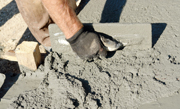 Betonnen vloer van gewapend beton