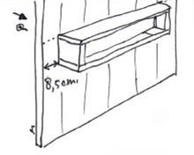 Entreemeubel van steigerhout - Stap 6