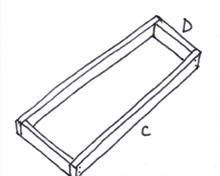 Tafel van steigerhout - Stap 2