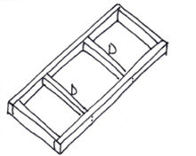 Tafel van steigerhout - Stap 3