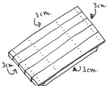 Tafel van steigerhout - Stap 4