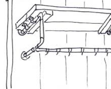 Entreemeubel van steigerhout - Stap 13
