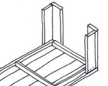 Tafel van steigerhout - Stap 6