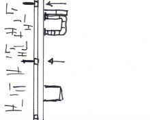 Entreemeubel van steigerhout - Stap 14
