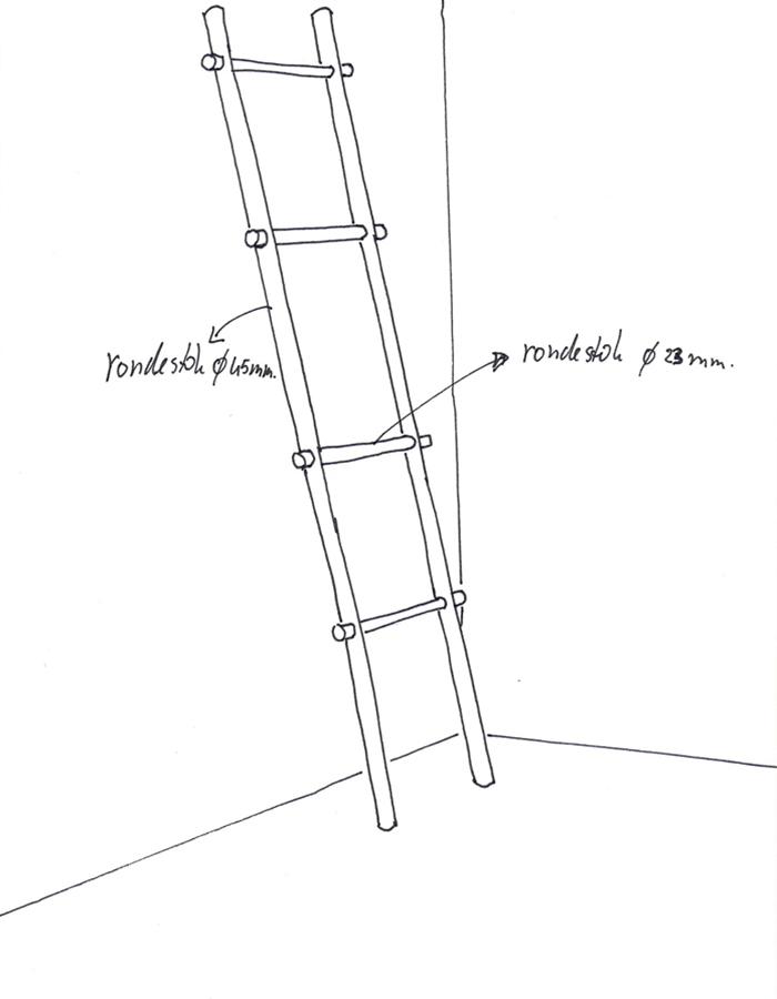 Zeer Handdoek ladder | KARWEI #ME83
