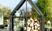 Houtopslag voor houtblokken