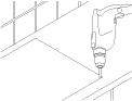 Inbouw gaskookplaat monteren karwei for Aanrechtblad karwei