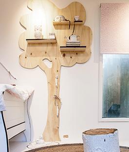 Decoratie Boom Kinderkamer.Wandboom Karwei