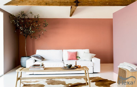 Kleurtrend Roze Interieur : Kleurtrends van flexa karwei