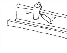 Kaptafel - Stap 1