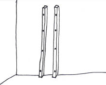 Wandboom - Stap 6
